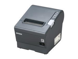 "Epson TM-T88V 3"" Single-station Thermal Receipt Printer, USB, Serial, Dark Gray - C31CA85084"