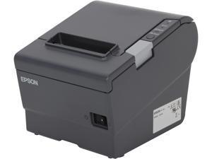 "Epson TM-T88V 3"" Single-station Thermal Receipt Printer, USB, Powered USB, Dark Gray (No Power Supply) - C31CA85090"