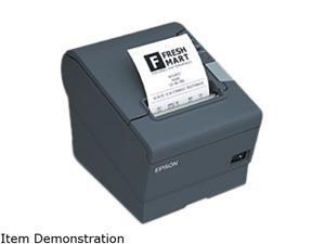EPSON TM-T88V POS Thermal Receipt Printer - Dark Gray - C31CA85631