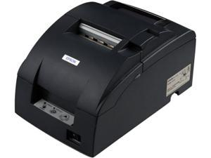 Epson TM-U220A Receipt/Kitchen Impact Printer with Auto Cutter and Take-up Journal - Dark Gray C31C513A8911