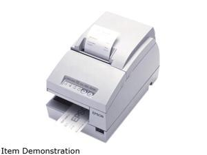 Epson TM-U675 Multifunction Impact Printer without MICR + Auto Cutter – Cool White C31C283A8901