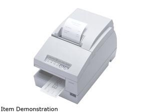 Epson TM-U675 Multifunction Impact Printer without MICR + Auto Cutter – Cool White C31C283012