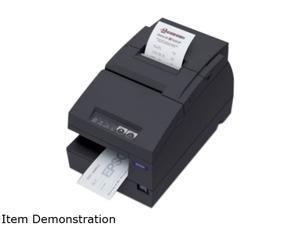 Epson TM-U675 Multifunction Impact Printer with MICR + Auto Cutter – Dark Gray C31C283A8791