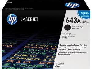 HP 643A LaserJet Toner Cartridge - Black