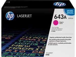 HP 643A LaserJet Toner Cartridge - Magenta