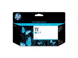 HP 72 High Yield Ink Cartridge - Cyan