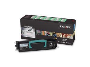 Lexmark E250A11A Return Program Toner Cartridge - Black