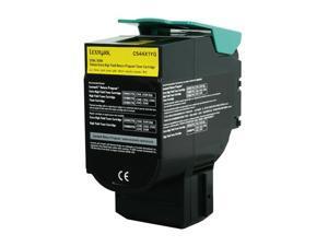 Lexmark C544X1YG Extra High Yield Return Program Toner Cartridge - Yellow