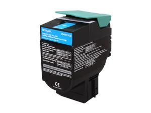 Lexmark C540H1CG High Yield Return Program Toner Cartridge - Cyan