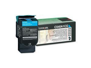 Lexmark C540A1CG Return Program Toner Cartridge - Cyan