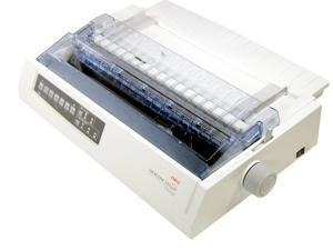 OKIDATA MICROLINE 321 Turbo (62411701) - Parallel, USB 9 pin 120V Up to 435cps Dot Matrix Printer