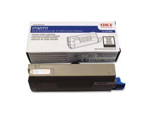 Oki Data 44318604 High Yield Toner Cartridge - Black