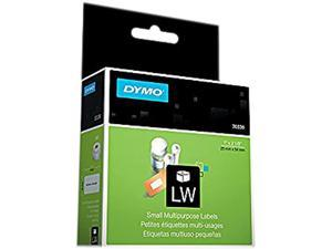 DYMO 30336 Multipurpose Labels, 1 x 2 1/8, White, 500/Box