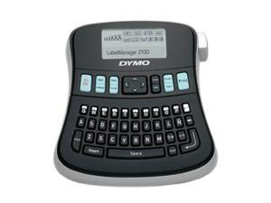 DYMO LabelManager 210D (1738345) Thermal Transfer Printer 180 dpi All Purpose Label Maker with Large Graphical Display