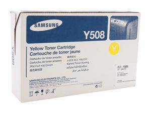 Samsung CLT-Y508L High Yield Toner Cartridge - Yellow