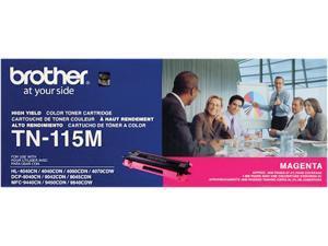 Brother TN115M High Yield Toner Cartridge - Magenta
