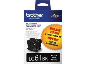 Brother LC612PKS Innobella Ink Cartridge - Dual Pack - Black