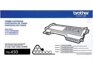 Brother TN450 High Yield Toner Cartridge - Black