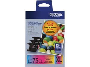 Brother LC753PKS High Yield Innobella Ink Cartridge - Combo Pack - Cyan/Magenta/Yellow