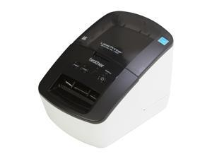 Brother QL-700 High-speed Direct Thermal Professional Label Printer, Auto-cutter, USB - White/Black