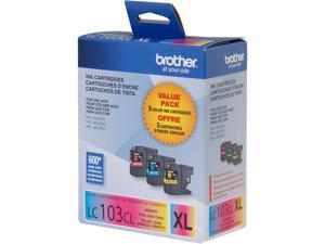 Brother LC1033PKS High Yield Innobella Ink Cartridge - Combo Pack - Cyan/Magenta/Yellow