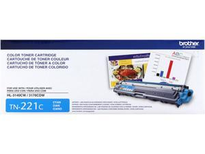 Brother TN221C Toner Cartridge - Cyan