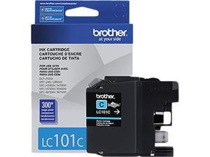 Brother LC101C High Yield Innobella Ink Cartridge - Cyan