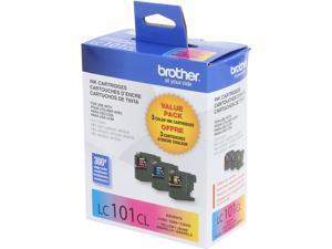 Brother LC1013PKS Innobella Ink Cartridge - Combo Pack - Cyan/Magenta/Yellow