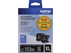 Brother LC1032PKS High Yield Innobella Ink Cartridge - Dual Pack - Black