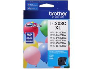 Brother LC203C High Yield Innobella Ink Cartridge - Cyan