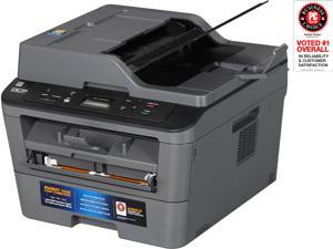 Brother DCP-L2540DW Duplex 2400 x 600 DPI USB/Wireless/Ethernet Monochrome Laser MFC Printer