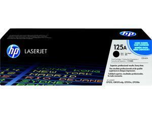 HP 125A LaserJet Toner Cartridge - Black