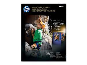 HP Q8690A - Advanced Photo Paper, 56 lbs., Glossy, 5 x 7, 60 Sheets/Pack