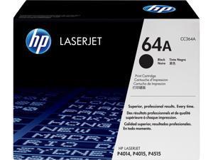 HP 64A LaserJet Toner Cartridge - Black