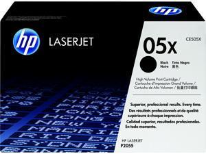 HP 05X High Yield LaserJet Toner Cartridge - Black