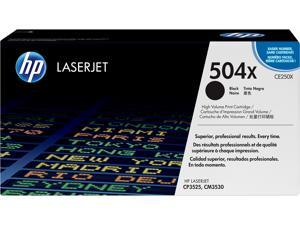 HP 504X High Yield LaserJet Toner Cartridge - Black
