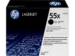 HP 55X High Yield LaserJet Toner Cartridge -Black Laser Print Technology (CE255X)