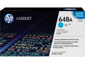HP 648A LaserJet Toner Cartridge - Cyan
