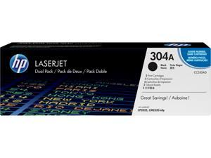 HP 304A LaserJet Toner Cartridge - Dual Pack - Black