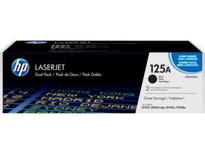 HP 125A LaserJet Toner Cartridge - Dual Pack - Black
