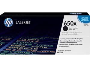 HP 650A LaserJet Toner Cartridge - Black