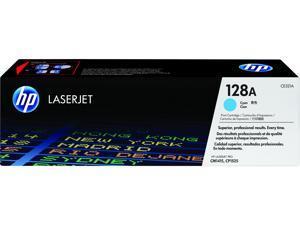 HP 128A LaserJet Toner Cartridge - Cyan