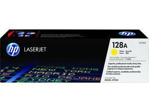 HP 128A LaserJet Toner Cartridge - Yellow