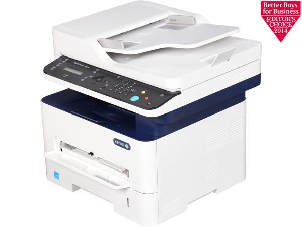Xerox WorkCentre 3225/DNI Black and White Multifunction Printer, Print/Copy/Scan/Fax, Letter/Legal, Up To 29ppm, 2-Sided Print, USB/Ethernet/Wireless, 250-Sheet Tray
