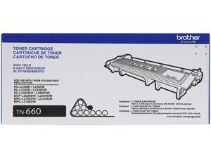 Brother TN660 High Yield Toner Cartridge - 2 Pack - Black