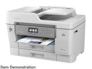 Brother MFC-J6945DW INKvestment Tank Duplex Wireless Color All-in-One Inkjet Printer - Up to 1-Year Ink in-Box