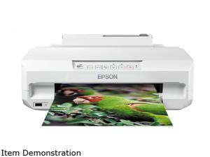 Expression Photo XP-55, Inkjet Printers, Consumer/Plain, Letter, 6 Ink Cartridges, MCKYlClM, Print, Yes, PictBridge, Red