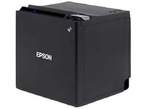 "Epson TM-m10 Single-station 2"" Thermal Receipt Printer, 203 dpi, USB, Ethernet, Auto Cutter, Black - C31CE74022"