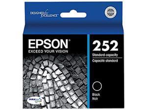 EPSON DURABrite Ultra 252 T252120S Ink Cartridges - Black