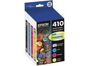 EPSON DURABrite Ultra 410 T410520S Ink Cartridges - Photo Black/Cyan/Magenta/Yellow